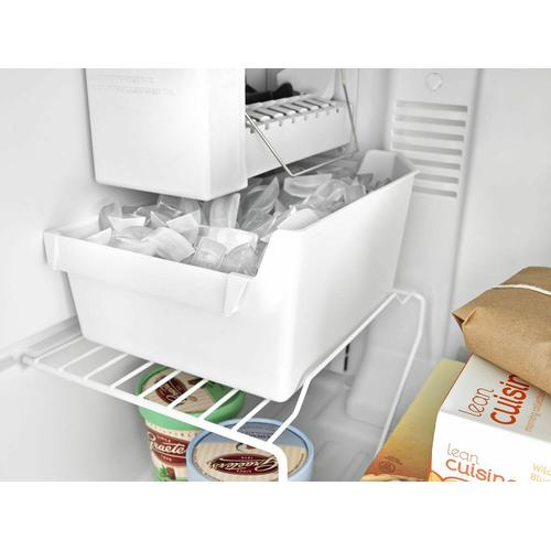 30-inch Wide Top-Freezer Refrigerator with Garden Fresh Crisper Bins - 18 cu. ft. - White
