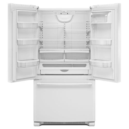 36-Inch Wide French Door Refrigerator - 25 Cu. Ft. White