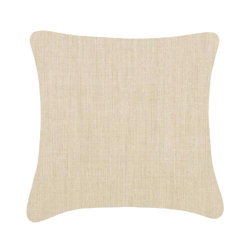 Sunbrella Canvas Cushion - Flax Beige / 20