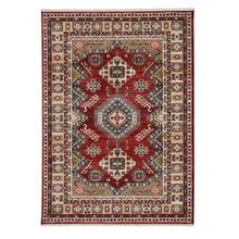 Landis-Kazak Classic Red Machine Tufted Rugs