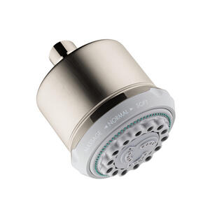 Brushed Nickel Showerhead 3-Jet, 2.5 GPM Product Image