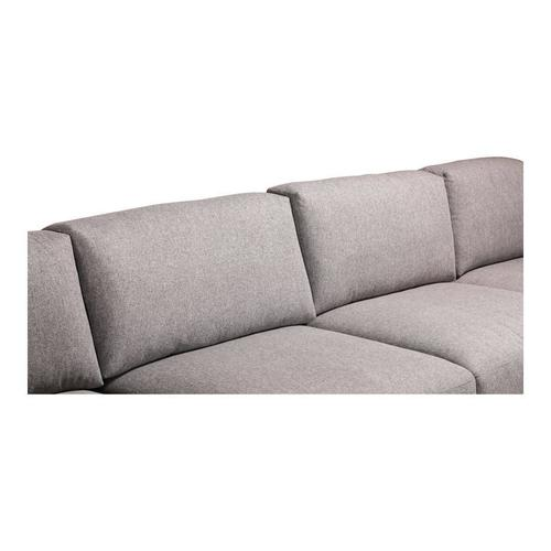 Moe's Home Collection - Romeo Modular Sectional Left Grey