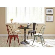 Bellevue Rustic White Dining Chair Product Image