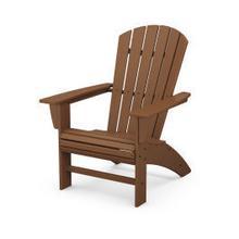 View Product - Nautical Curveback Adirondack Chair in Teak