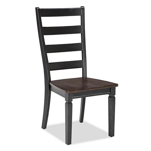 Intercon Furniture - Glennwood Chair  Black & Charcoal