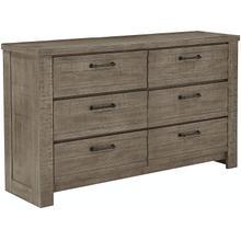 See Details - Ruff Hewn Gray Drawer Dresser