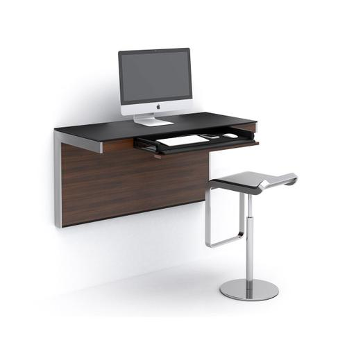 Wall Desk 6004 in Chocolate Stained Walnut