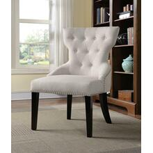 Casual Cream Accent Chair