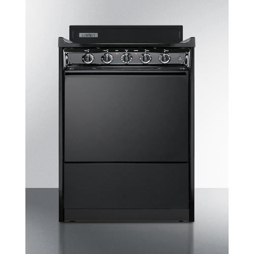 """Summit - 24"""" Wide Electric Coil Range"""