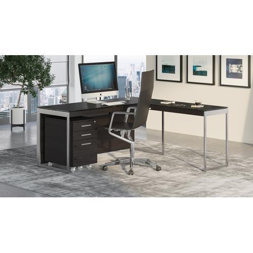 BDI Furniture - Sequel 20 6112 Return in Charcoal Satin Nickel