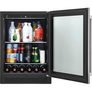 Electrolux - 5.1 Cu. Ft. Under-Counter Beverage Center