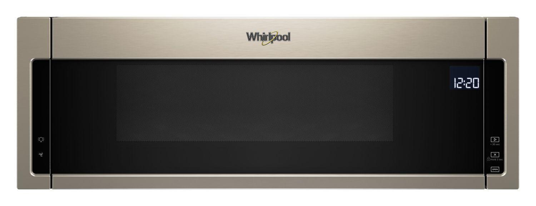 Whirlpool1.1 Cu. Ft. Low Profile Microwave Hood Combination Sunset Bronze