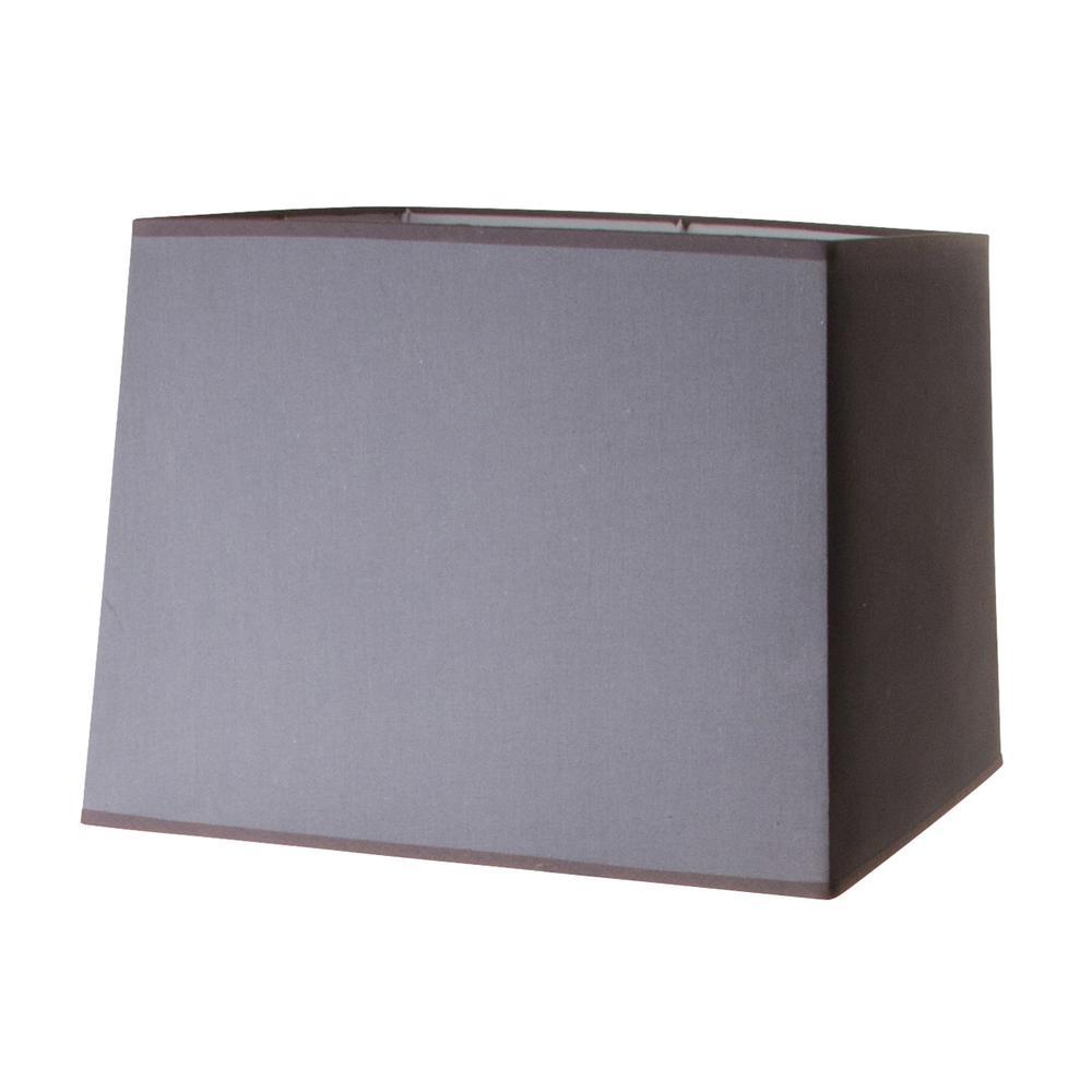 Rectangular Lamp Shade Gray 194t