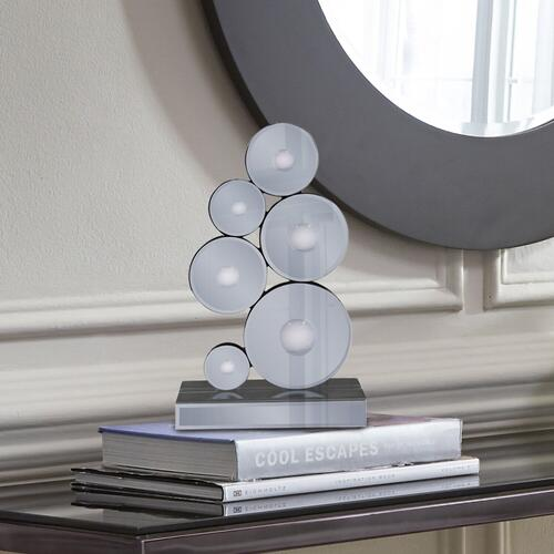 Howard Elliott - Grigio Mirrored Sculpture