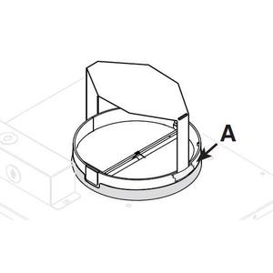 Optional 6-in. round air flow reducer kit reduces airflow to under 300 CFM **COMING SOON**
