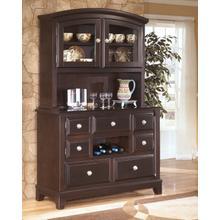 See Details - Ridgley - Dark Brown 2 Piece Dining Room Set