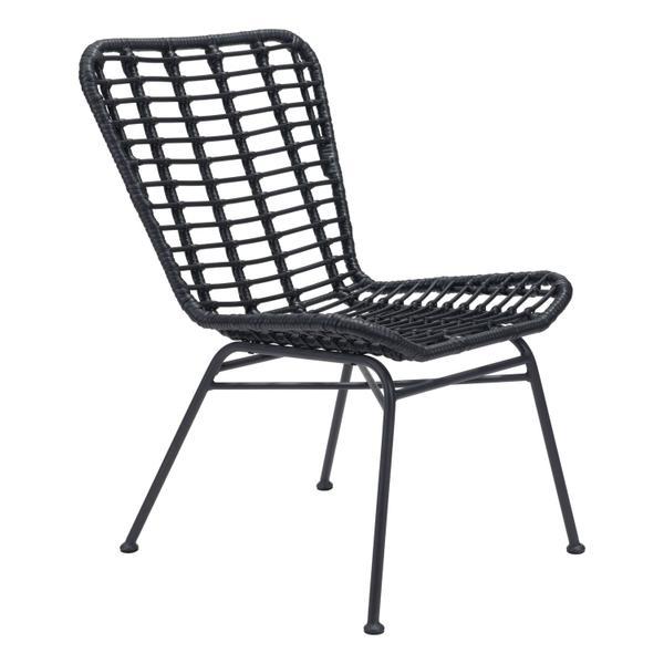 See Details - Lorena Dining Chair Black
