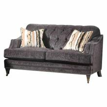 ACME Helenium Loveseat w/2 Pillows - 50216 - Gray Chenille