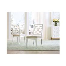 Chelsea by Rachael Ray Lattice Back Side Chair