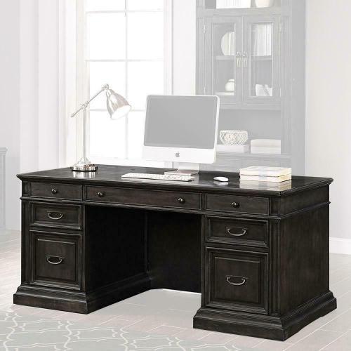WASHINGTON HEIGHTS Double Pedestal Executive Desk