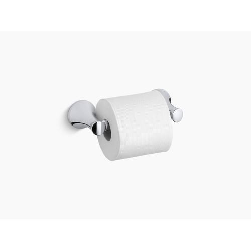Vibrant Brushed Nickel Toilet Paper Holder