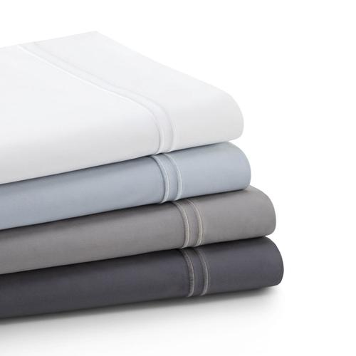 Supima Cotton Sheets Split Queen White