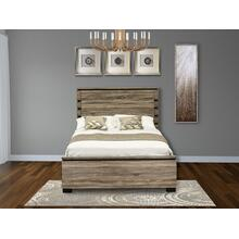 West Furniture Savona Queen Size bed in Antique Gray Finish