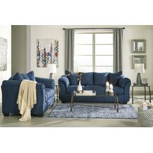 Darcy Blue Living Room Set