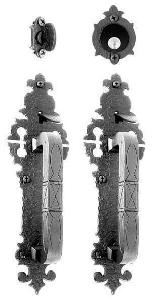 Double Handle Mortise Lockset Product Image