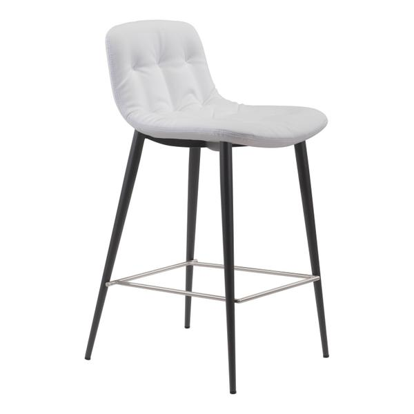 See Details - Tangiers Counter Chair White