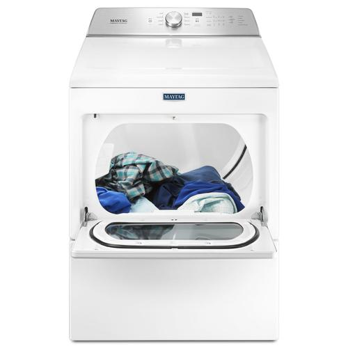 Large Capacity Electric Dryer with IntelliDry® Sensor - 7.4 cu. ft. White