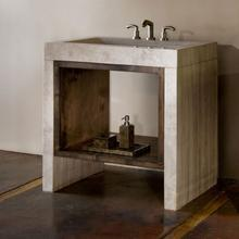 Siena Recesso Console - By Custom Order Only Siena Silver Gray Marble / Siena Recesso 36