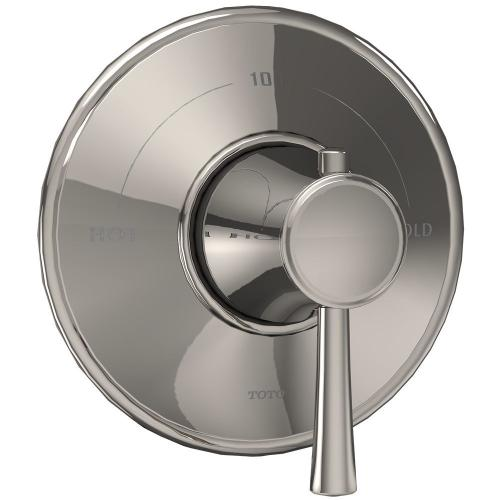 Silas™ Thermostatic Mixing Valve Trim - Polished Nickel