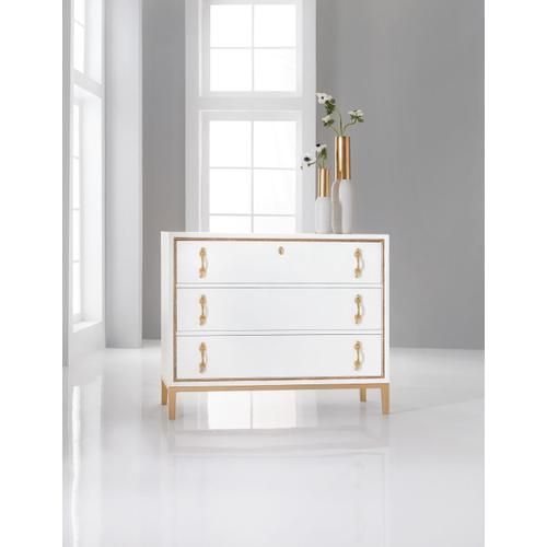 Living Room Melange Calhoun Three-Drawer Chest