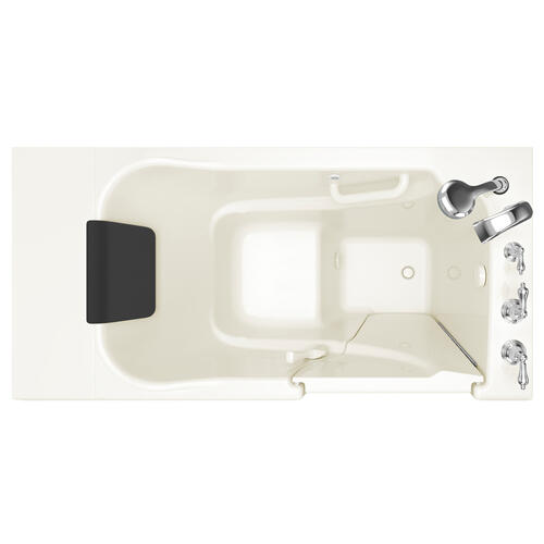 American Standard - Premium Series 30x52-inch Soaking Walk-In Tub  American Standard - Linen