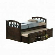 ACME San Marino Full Captain Bed & Trundle - 04993 - Dark Walnut