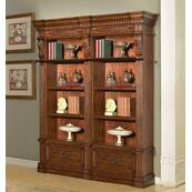GRAND MANOR GRANADA 2 piece Museum Bookcase (9030 and 9031)
