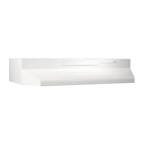 "42"" Convertible Range Hood, White-on-White"