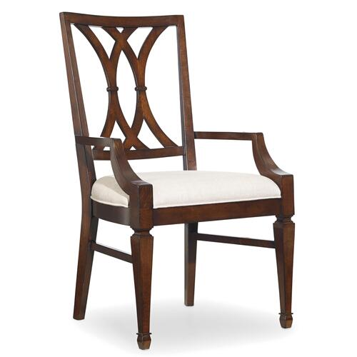 Hooker Furniture - Palisade Splat Back Arm Chair - 2 per carton/price ea