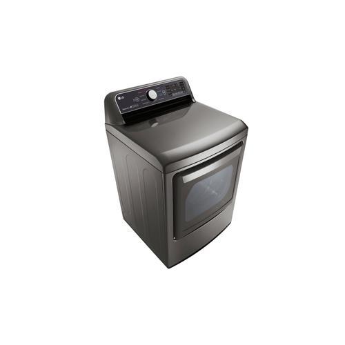 LG Canada - 7.3 cu.ft. Super Capacity Dryer with EasyLoad™ dual-opening door