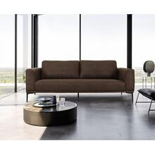 View Product - Divani Casa Jada - Modern Brown Fabric Loveseat