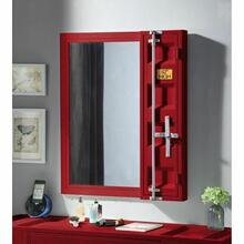ACME Cargo Vanity Mirror - 35952 - Red