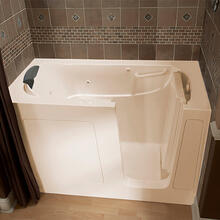 Premium Series 30x60 Combo Massage Walk-in Tub, Right Drain  American Standard - Linen