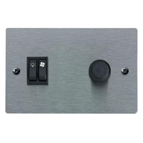 Broan® Optional Wall Control, Stainless