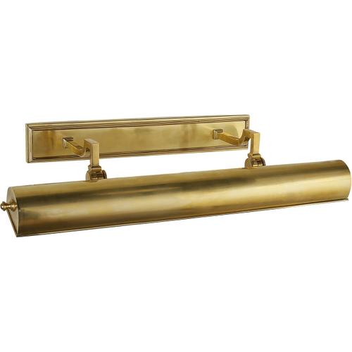 Alexa Hampton Dean 80 watt 26 inch Natural Brass Picture Light Wall Light