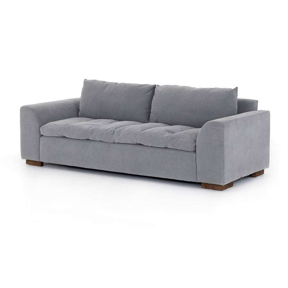 "Rhodes Sofa-90""-heavy Pebble Pewter"
