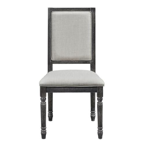 Uph Back Chair (2 per carton) - Weathered Pepper Finish