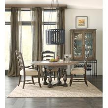 View Product - La Grange Twin Sisters Ladderback Side Chair - 2 per carton/price ea