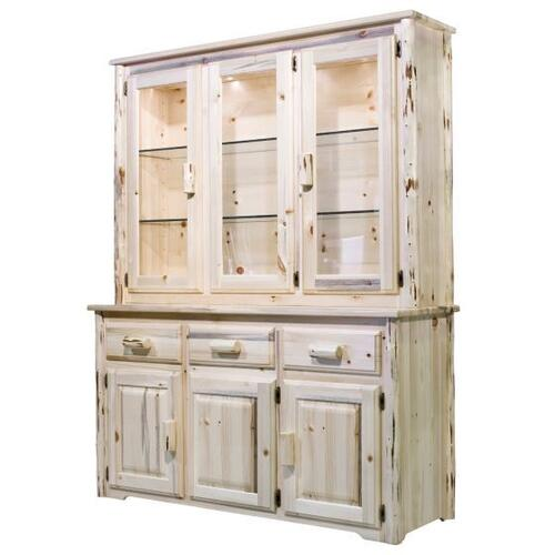 Montana Collection China Hutch with Sideboard