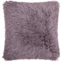 """Shag Tl004 Lavender 20"""" X 20"""" Throw Pillow"""